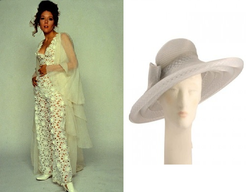 James Bond Girl Tracy Draco Outfit Hat