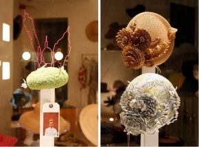 Gabriela Ligenza Hatitecture: Hats and the City